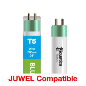 28W Juwel Aquarium T5 Fluorescent Blue Plus + Tube Bulb Dimensions