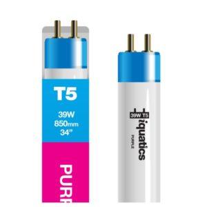 39W Aquarium T5 Fluorescent Purple Plus Fiji Tube Bulb