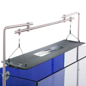 Aquarium LED lighting Bracket - side tank mount