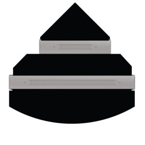 iQuatics Universal Replacement Flap Set - Trigon 350 Compatible-Without Holes-0
